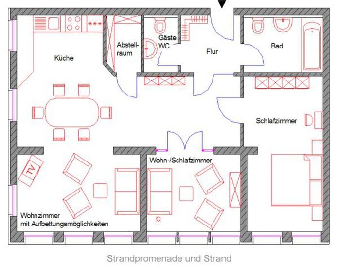 ferienwohnung zinnowitz usedom zinnowitz wohnung 10 haus seeblick mit ostseeblick wzs10r. Black Bedroom Furniture Sets. Home Design Ideas
