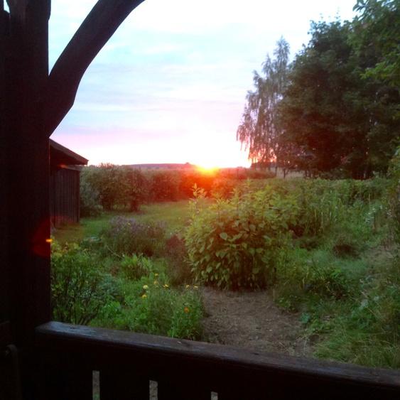 Abends auf Landlust