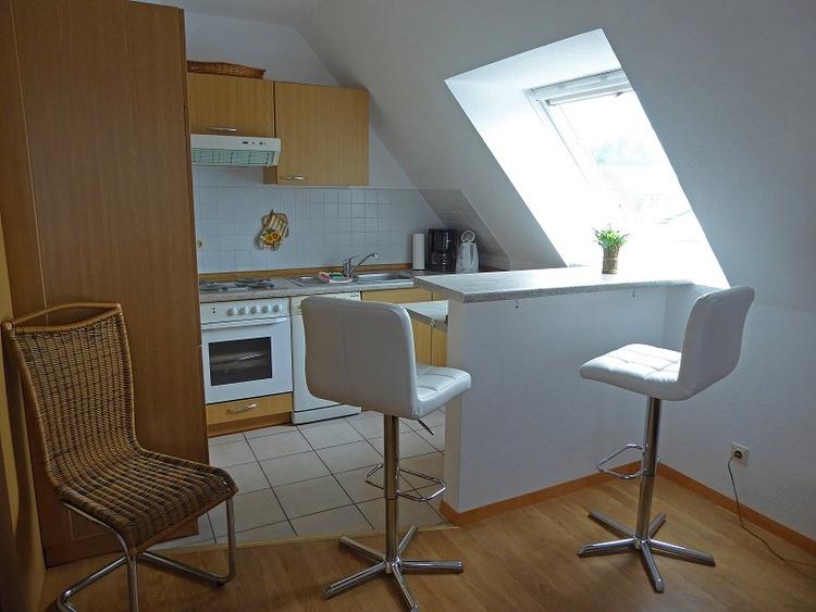 Wohnung 4 Küche mit Essbereich