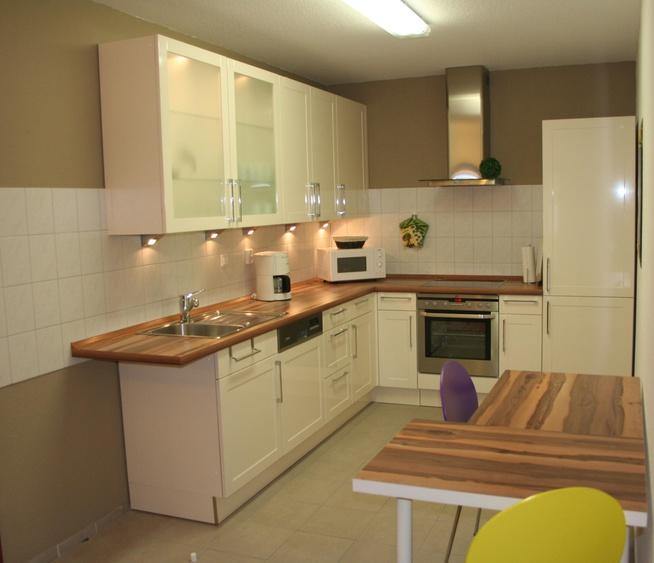 Küche mit allem Komfort