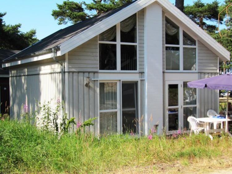 Terrasse und hinterm Haus
