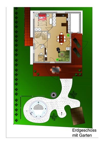 Planung Erdgeschoss und Planung