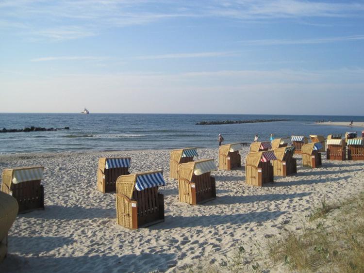 Wustrower Strand in Abendstimmung