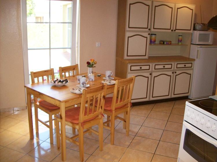 Essecke in der Küche