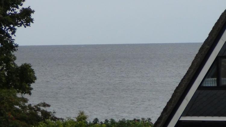 mit Blick zur Ostsee