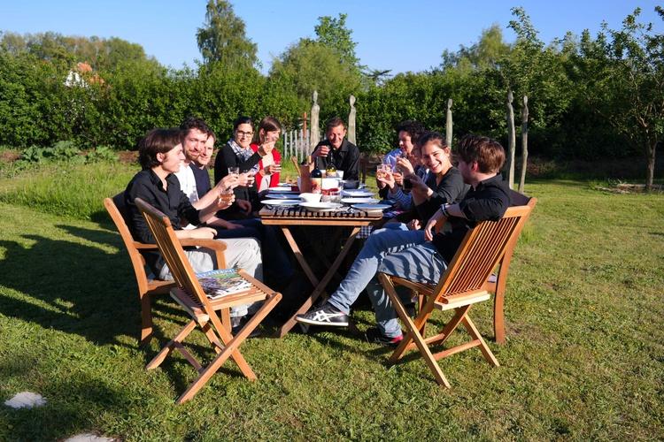 Gemeinschaft im Garten