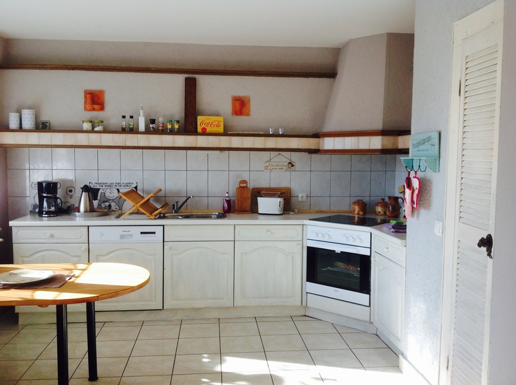 Küche läd zum kreativen Kochen ein