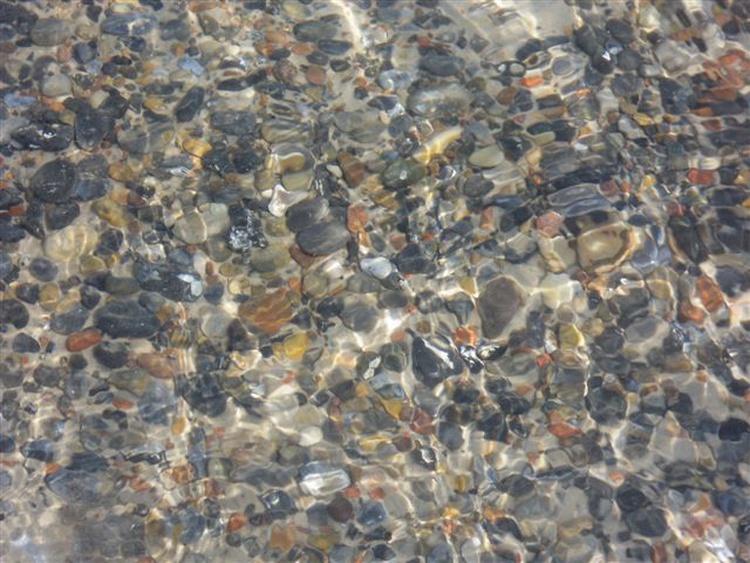 kristallklares Wasser