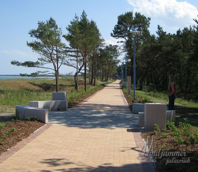 Strandpromenade Juliusruh