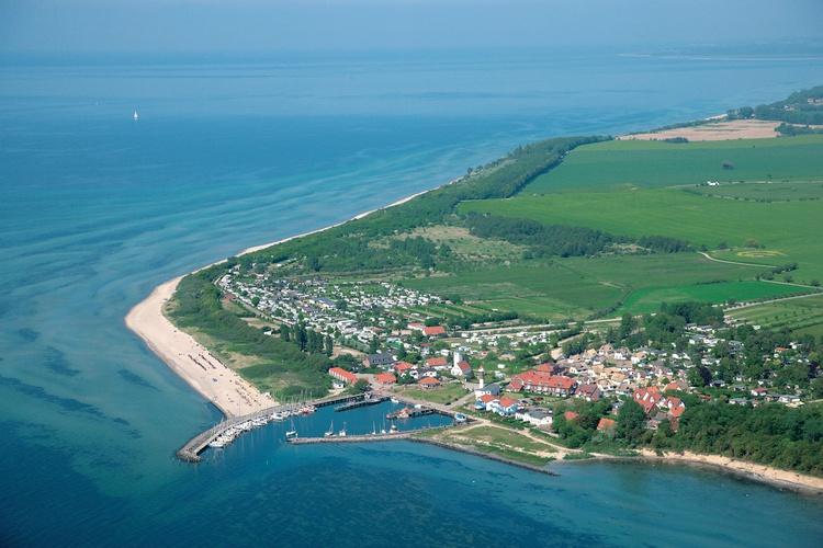 Luftbild Timmendorf Strand