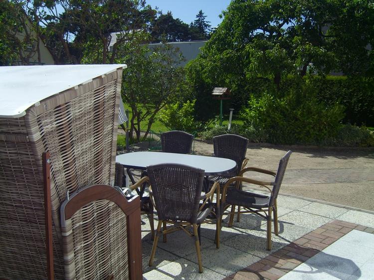 Terrasse am Garten