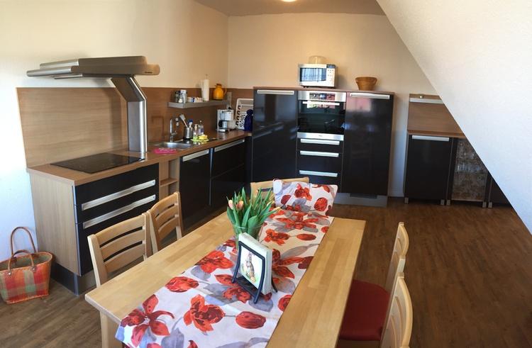 hochmoderne Wohnküche