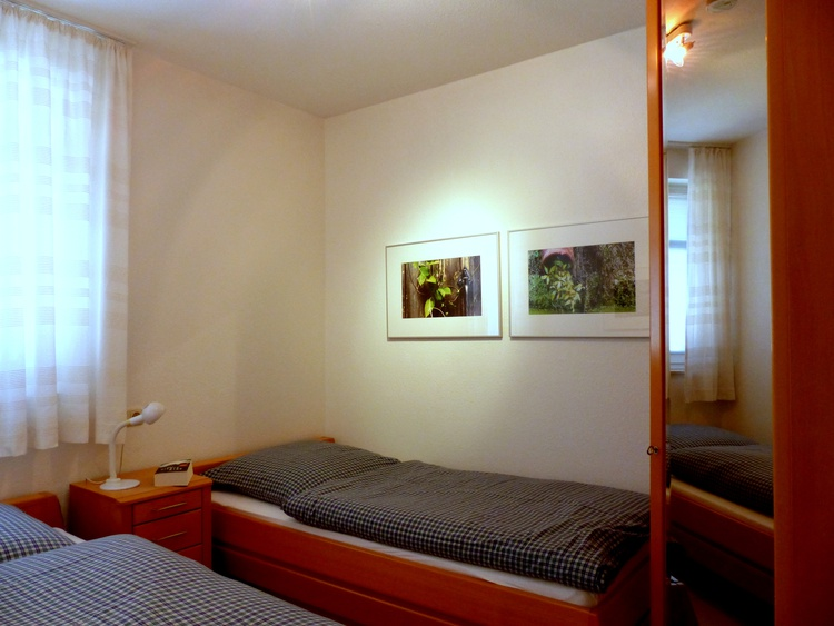 Schlafzimmer 2 Einzelbetten