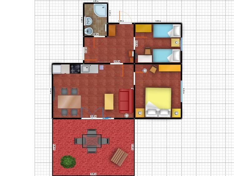 Grundriss Ferienzimmer