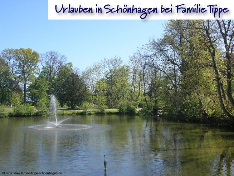 Schlossteich Schönhagen