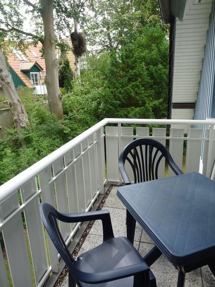Balkon im Grünen
