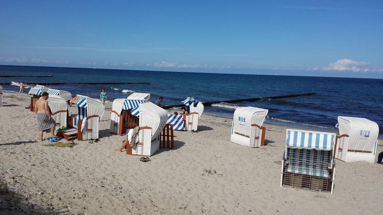 Strandkörbe in Börgerende