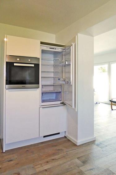 Kühlschrank, Backofen