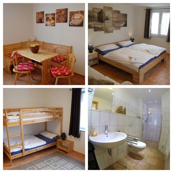 Wohnung 1 für max 5 Gäste