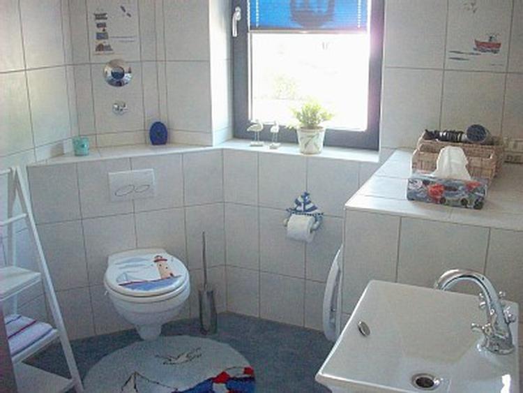 maritimes Bad WC unten