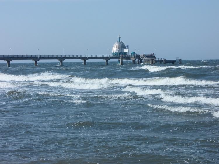 Die Ostsee in Zinnowitz