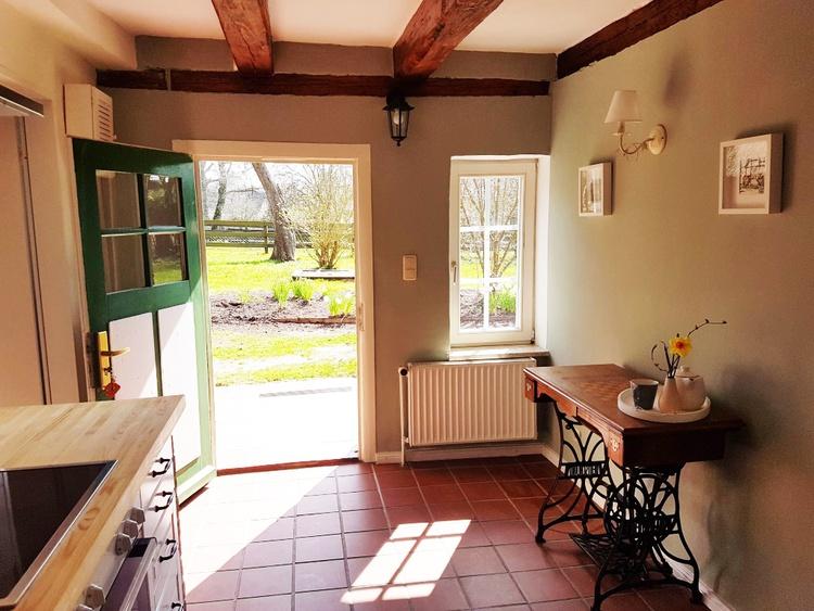 Eingang und Küche