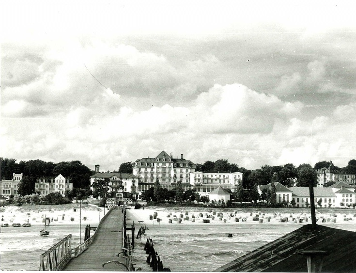 Seebrücke um 1920