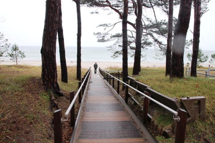 Ihr Weg zum Strand nur 200m