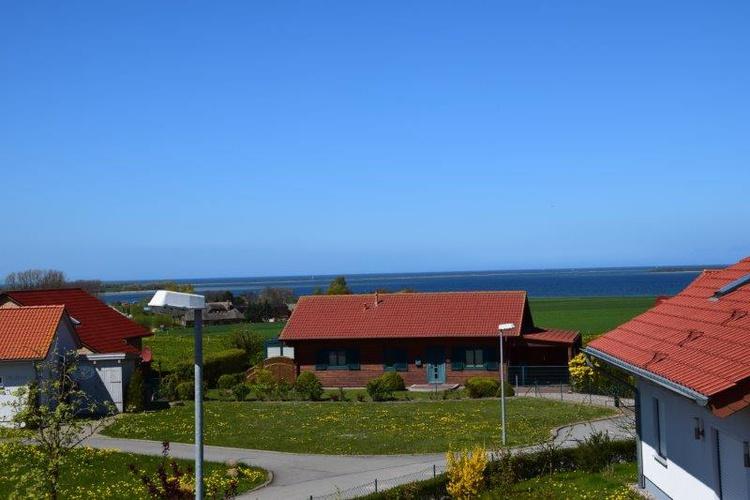 Ausblick vom Balkon auf die Ostsee