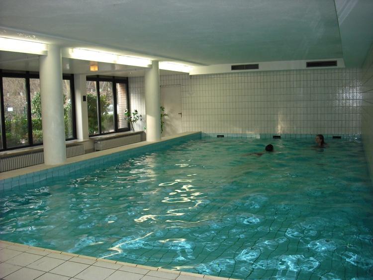 großzügiges Schwimmbad 28° und Sauna