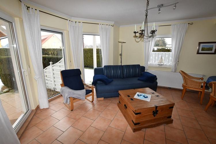 Wohnzimmer mit Glaserker