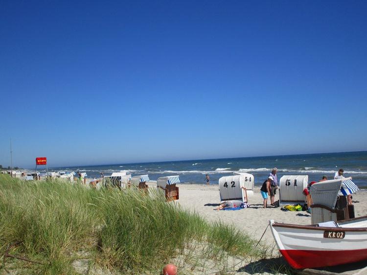 Strandleben im Sommer