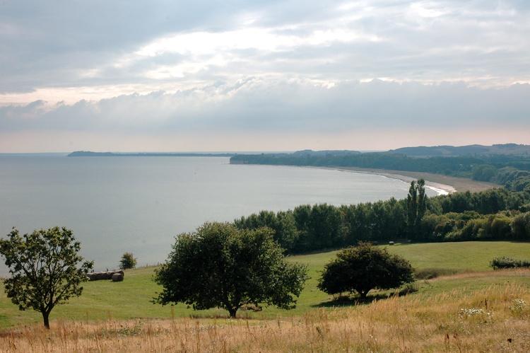 der Blick auf die See