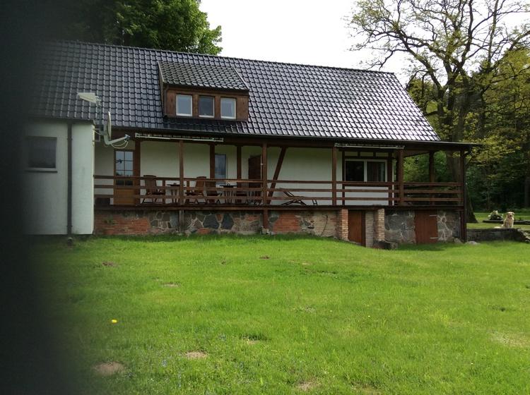Forsthaus Waschensee Terrassen der FeWo´s
