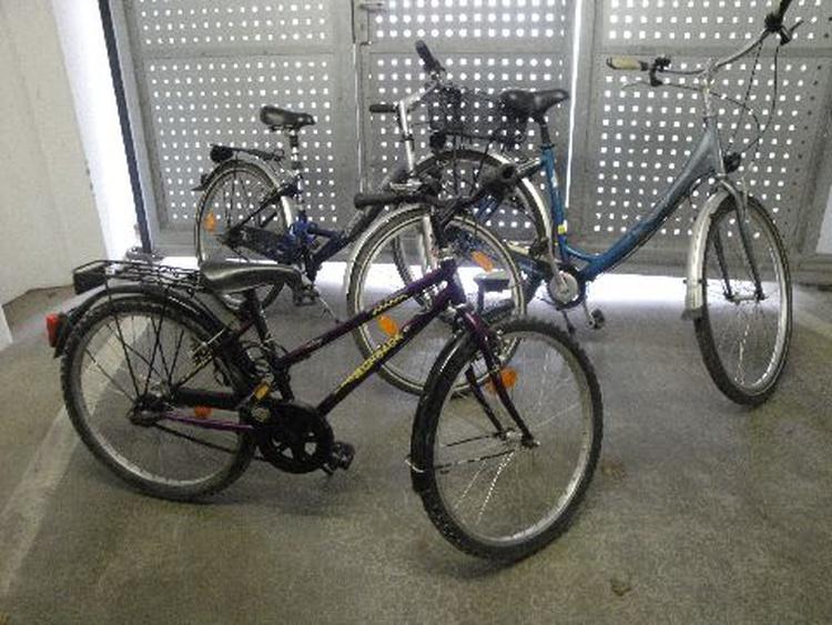 3 Fahrräder, kostenl. Benutzung
