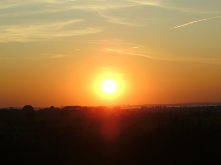 Sonnenuntergang Originalblick