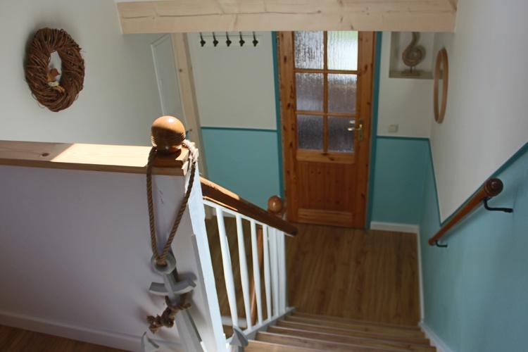 Treppe zum Badezimmer