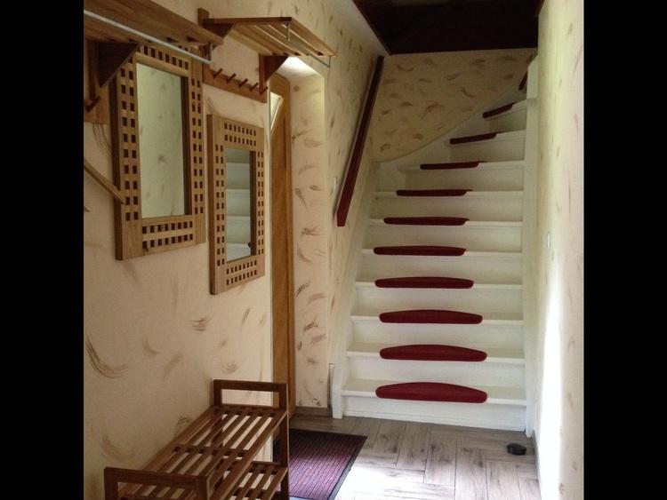 Eingangsbereich mit Treppe zu den Schlafzimmern