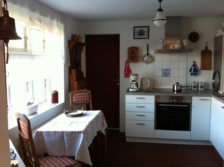 Gemütlicher Essplatz in der Küche.
