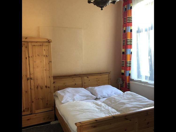 """Schlafzimmer der FeWo """"Waldessaum"""""""