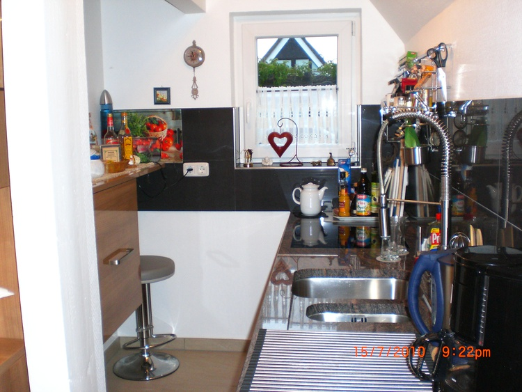 modern ausgestattene Küche