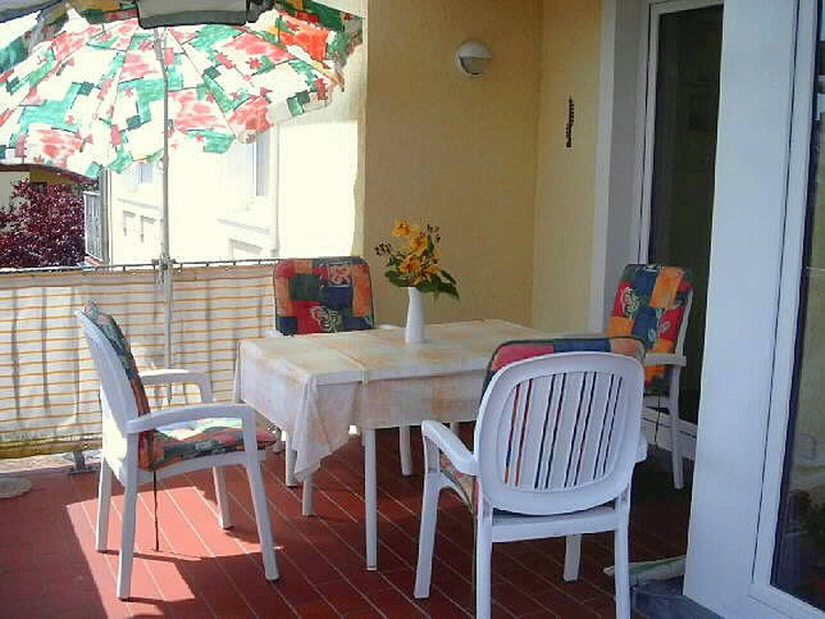Balkon Ihrer Ferienwohnung