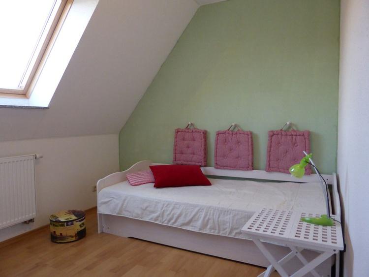 Haus Kranich-Funktionsbett (2 Schlafmöglichkeiten), 1. Etage