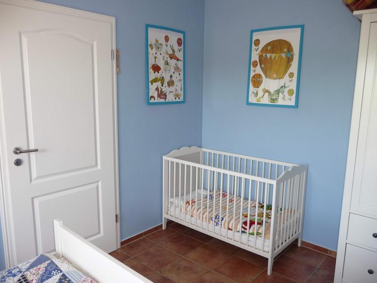 Kinderbett im EG