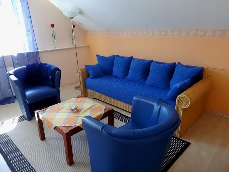 living and sleeping room