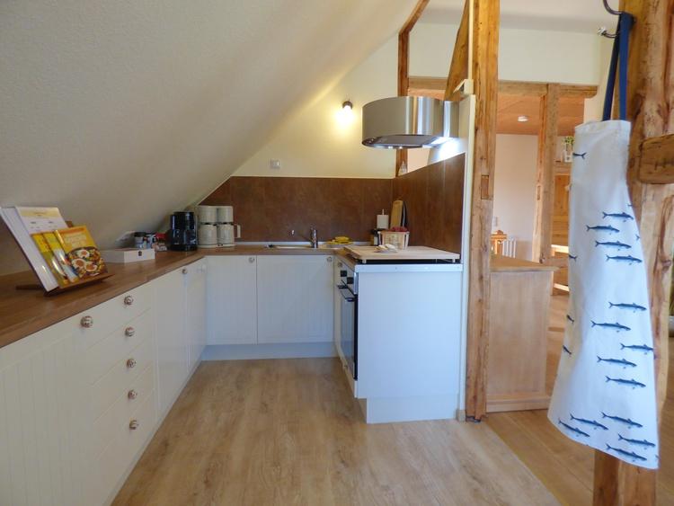 Küche voll ausgestattet/Padmaschine/Doppelkaffeemaschine