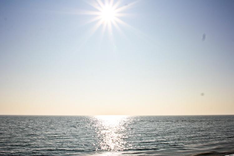 In ca. 800 m liegt schon der schöne Strand