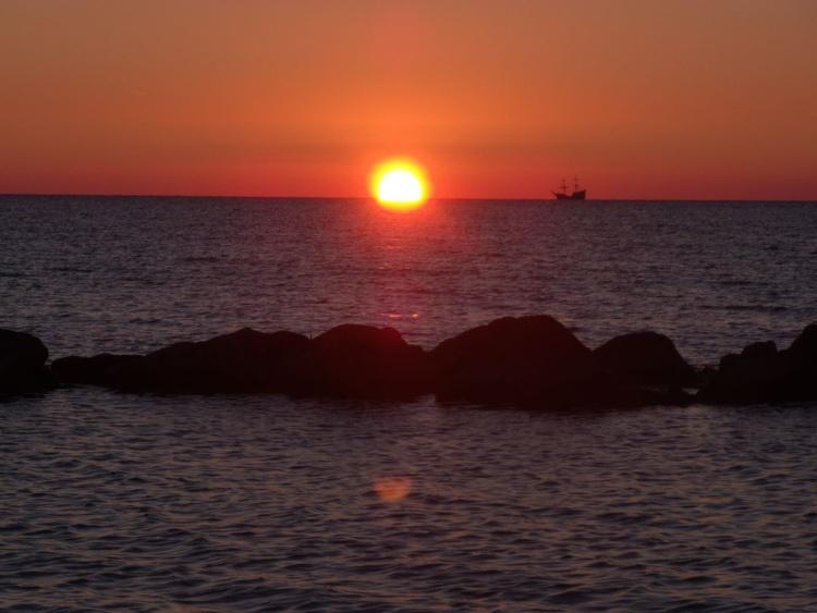 Darlowo bietet so manchen unvergleichlichen Sonnenuntergang