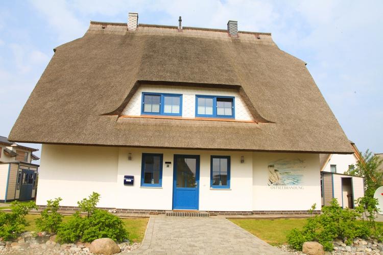 Ferienhaus Ostseebrandung Vorderansicht