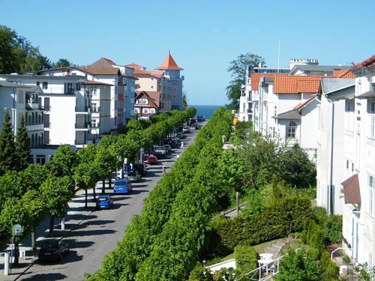 Wilhelmstraße in Richtung Seebrücke